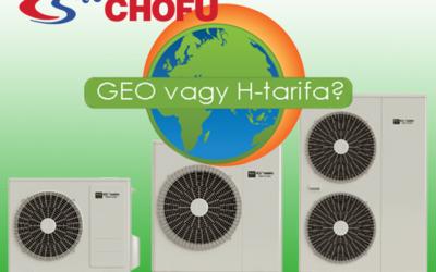 Hőszivattyú GEO vagy H-tarifa